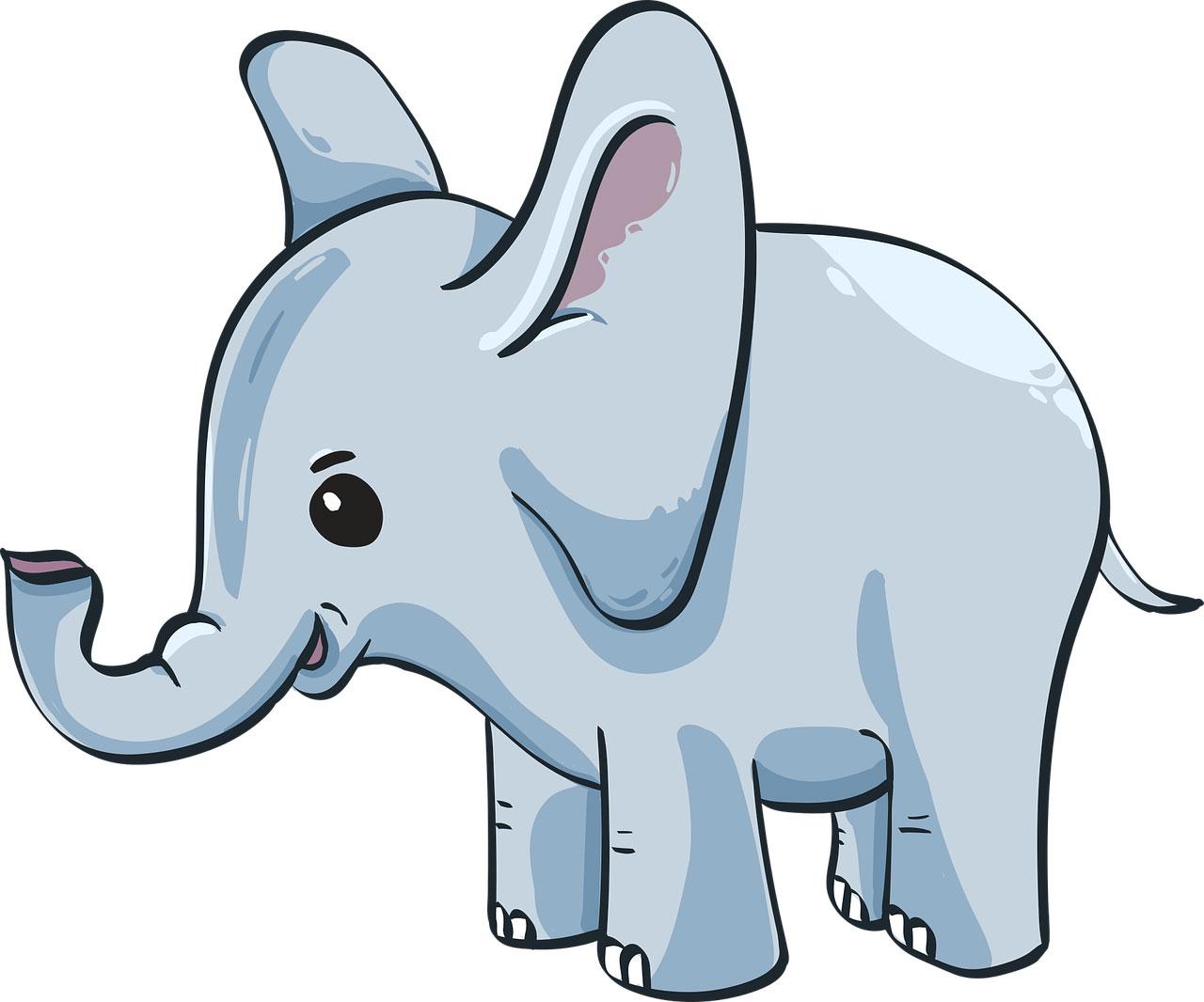 První slovo, které jsem přečetl, byl Slon